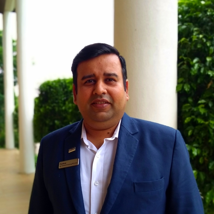 Pankaj jha, The Westin Pushkar Resort & Spa, Room divisions manager, New appointment, Hospitality industry