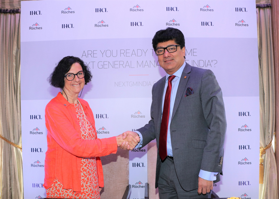 The Indian Hotels Company Limited (IHCL), Ihcl, Les Roches Global Hospitality Education, The next General Manager of India, Talent, Indian hospitality, Talent initiative, Global Hospitality Management