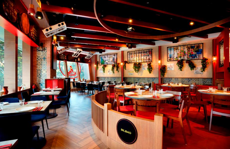 Tapas Club restaurant at Orchard Road, Singapore