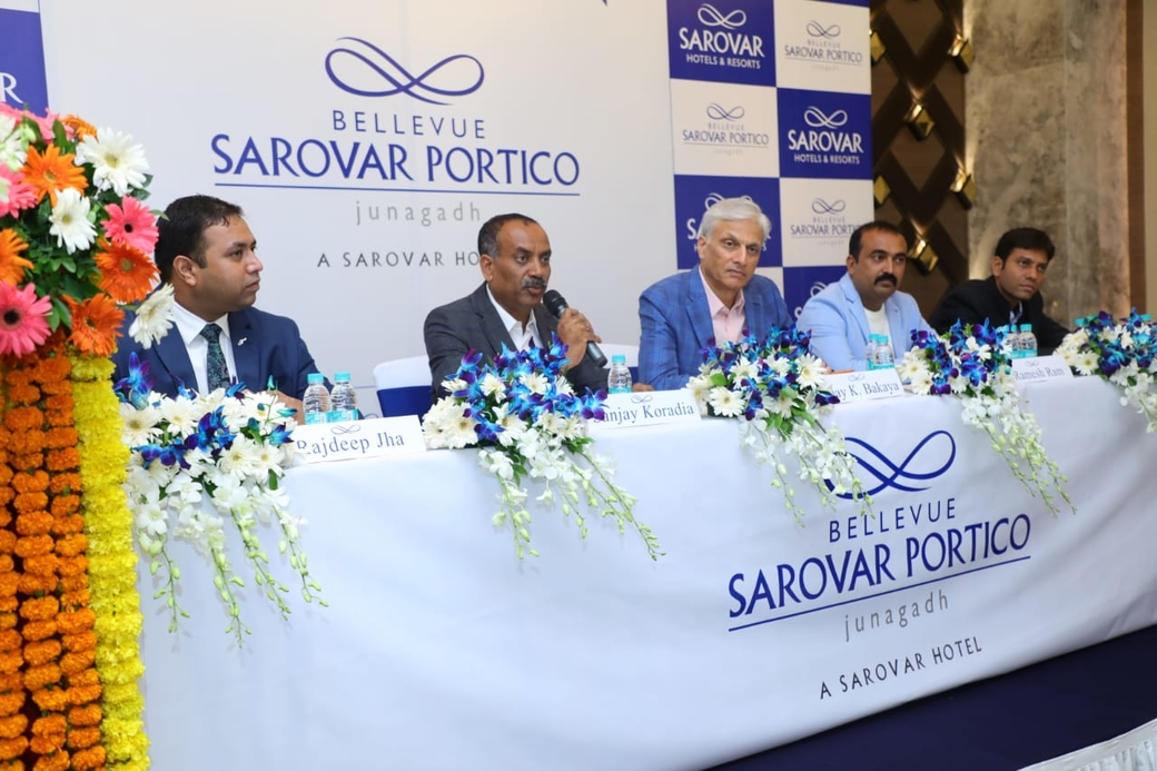 Sarovar Hotels, Sarovar Hotels & Resorts, Bellevue Sarovar Portico, Junagadh, Hotel launch