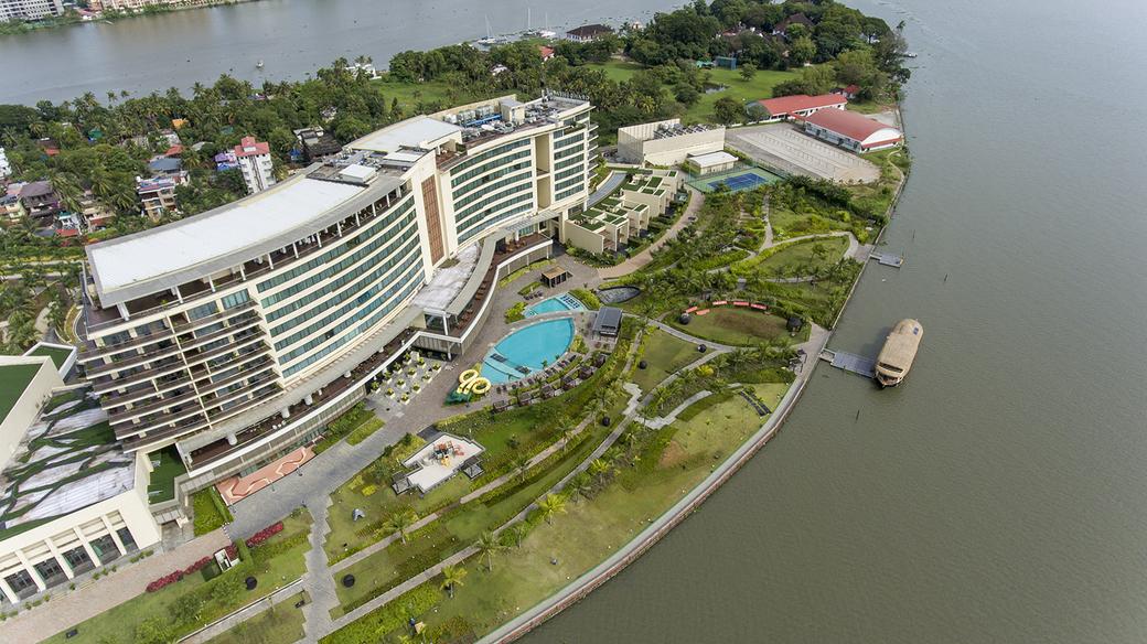 Grand Hyatt Kochi Bolgatty, Luxury houseboat, Houseboat, Nattika, Two bedroom, Living area, Welcome lounge, Dining area, Cuisine, Sun deck