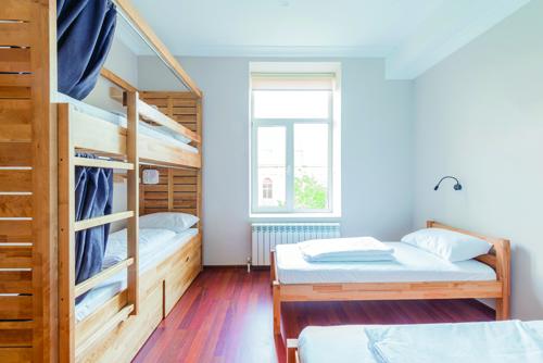 Long-stay accommodation sectors, Leisure Hotels Group, Hostel, Resitel, Bedz brand, Rishikesh