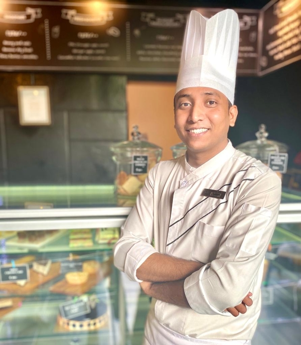 Courtyard by Marriott Ahmedabad, Piyush Rajput, New appointment, Chef de partie, Bakery