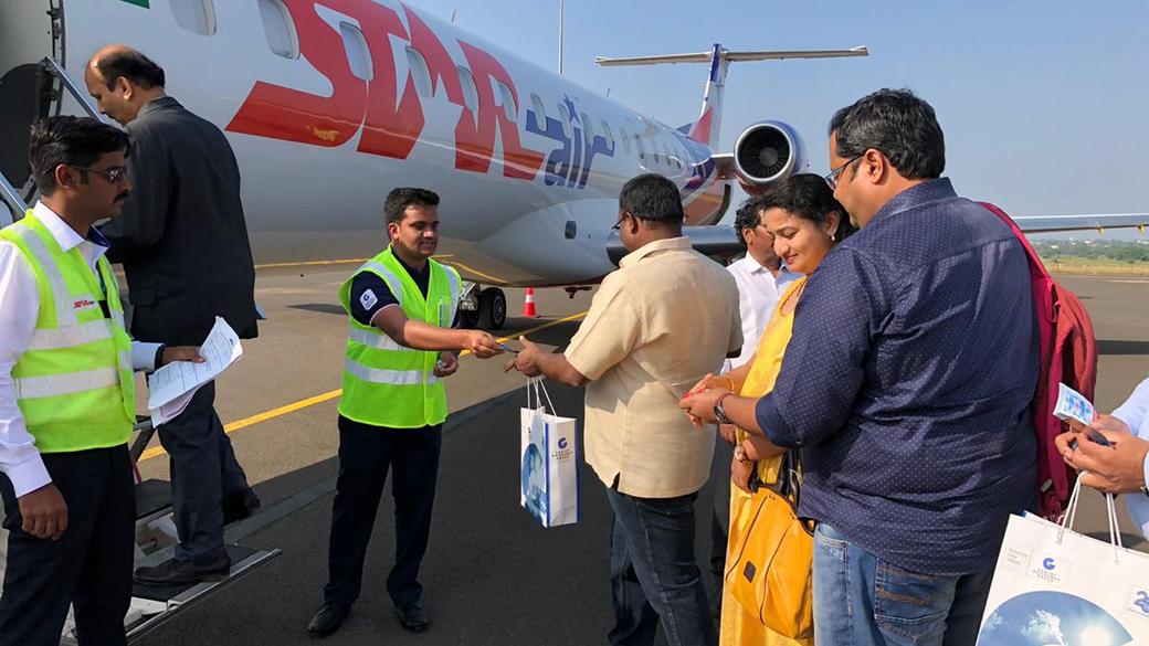 Kalaburagi Airport, India's tourism, Kempegowda International Airport, Chief Minister of Karnataka, Ministry of Civil Aviation, Bengaluru, Mysuru, Mangaluru, Belagavi, Jewargi Agro Food Park, Turdal, Chillies, Millets