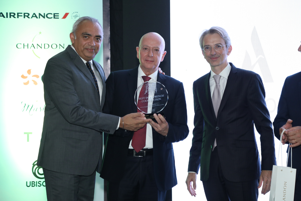 L-R: J.B. Singh, President and CEO, InterGlobe Hotels and Jean-Michel Cassé, Chief Operating Officer (COO) – India & South Asia, Accor along with the Ambassador of France to India H.E. Emmanuel Lenain
