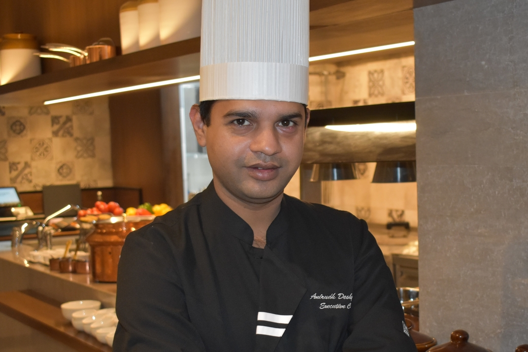 Courtyard By Marriott Amritsar, Chef Anirudh Deshpande, Executive chef, Appointment