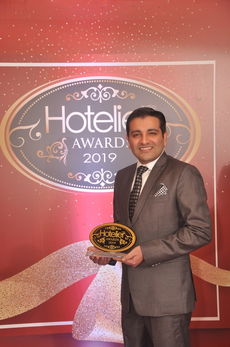 11th Hotelier India Awards, Hotelier India, Hotelier India Awards, Hotelier India Awards 2019, Front office manager, Front Office Manager of the Year', Front Office Manager of 2019, Arpan Rawal, Maidens Hotel Delhi