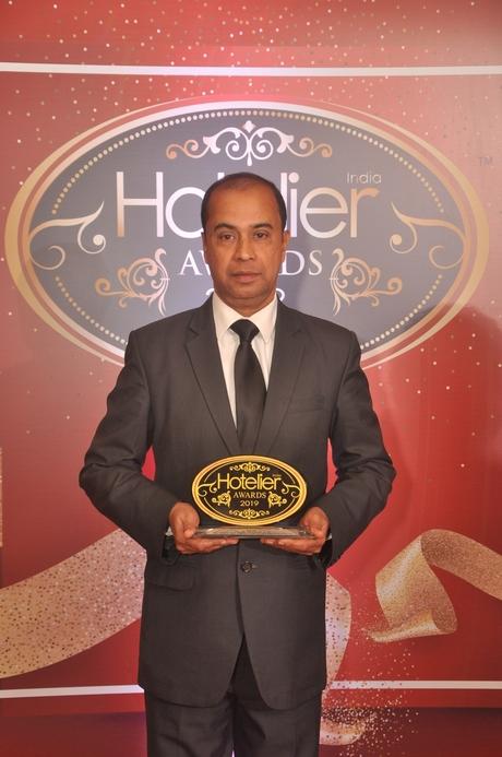 11th Hotelier India Awards, Hotelier India, Hotelier India Awards, Hotelier India Awards 2019, Derek Monteiro, Taj Holiday Village Resort & Spa Goa, Unsung Hero of the Year', Unsung Hero of 2019