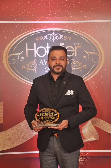 11th Hotelier India Awards, Hotelier India, Hotelier Awards, Revenue Person of the Year, Revenue Person of 2019, Gaurav Mudgal, Fairmont Jaipur