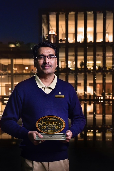 11th Hotelier India Awards, Hotelier India, Raghuveer Singh, Chief Engineer of the Year, Chief Engineer of 2019, The Oberoi Gurgaon, Hospitality awards, Hotelier Awards