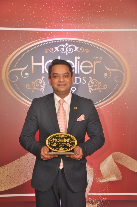 11th Hotelier India Awards, Hotelier India, Hotelier India Awards, Hotelier India Awards 2019, Revenue Person of 2019, Revenue Person of the Year, Rajat Singh, ITC Grand Chola.