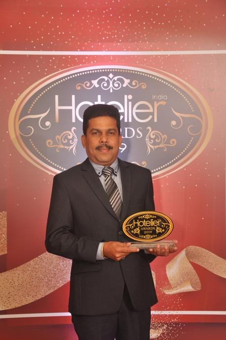 11th Hotelier India Awards, Hotelier India, Hotelier India Awards, Hotelier India Awards 2019, Procurement Person of the Year, Procurement Person of 2019, Rajesh Nair, Grand Hyatt Kochi, Grand Hyatt Kochi Bolgatty