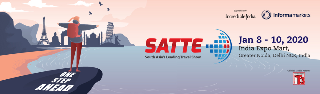 SATTE 2020, Travel and Tourism, Informa Markets, South Asia Travel and Tourism Exchange, UBM India, Yogesh Mudras