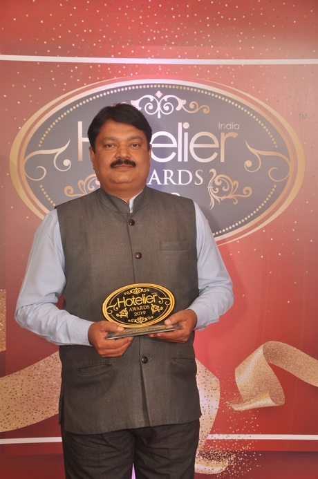 11th Hotelier India Awards, Hotelier India, Hotelier India Awards 2019, Revenue Person of 2019, Revenue Person of the Year, Sashi Panda, Mayfair Heritage & Waves, Puri.