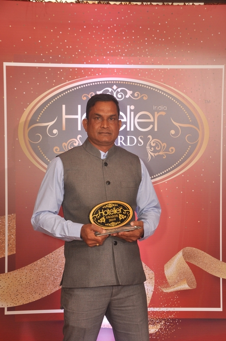 11th Hotelier India Awards, Hotelier India, Hotelier India Awards, Hotelier India Awards 2019, Satyaranjan Bisoi, MAYFAIR Puri, Unsung Hero of the Year', Unsung Hero of 2019
