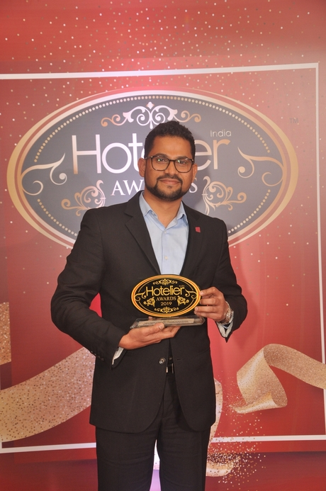 11th Hotelier India Awards, Hotelier India, Sales Person of the Year, Sales Person of 2019, Sunil Shetty, Aloft Bengaluru Cessna Business Park