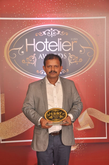 11th Hotelier India Awards, Hotelier India, Hotelier India Awards 2019, Chief Engineer of 2019, Chief Engineer of the Year, Ibis Kochi City Centre, Syam Kumar