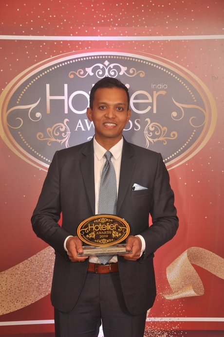11th Hotelier India Awards, Hotelier India, Director of rooms 2019, Director of rooms of the year, Vinod Kumar, Bengaluru Marriott Hotel Whitefield