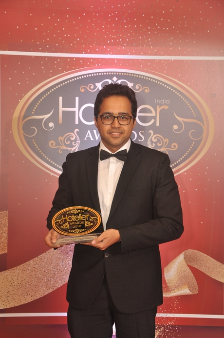 11th edition Hotelier India Awards, Hotelier India, Hotelier India Awards 2019, Hotelier India Awards, It Person of the Year, IT Person of 2019, Aakash Bhutani, The Oberoi Hotels & Resorts – Corporate Office