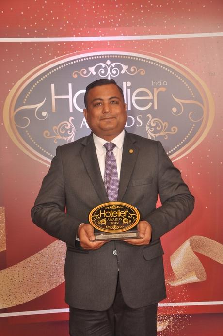 11th edition Hotelier India Awards, 11th Hotelier India Awards, Hotelier India, Hotelier India Awards, Hotelier India Awards 2019, Banqueting Person of the Year, Banqueting Person of 2019, Abhigyan Sinha, Taj Lands End Mumbai
