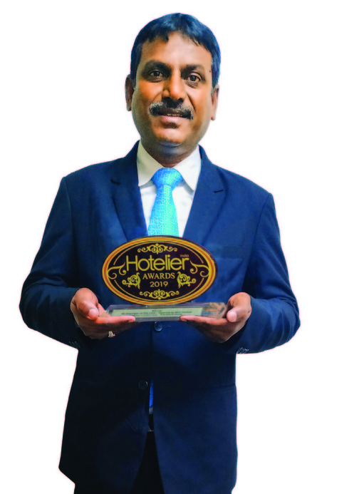 11th Hotelier India Awards, Hotelier India, Hotelier India Awards, Hotelier India Awards 2019, Charles Victor, HR Manager of 2019, HR Manager of the Year, HR manager, Hyderabad Marriott Hotel & Convention Centre