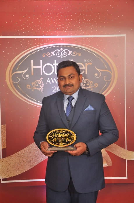 11th edition Hotelier India Awards, 11th Hotelier India Awards, Hotelier India, Hotelier India Awards, Hotelier India Awards 2019, Housekeeper of the Year, Housekeeper of 2019, Kannanunni Ajayakumar, The Tamara Kodai