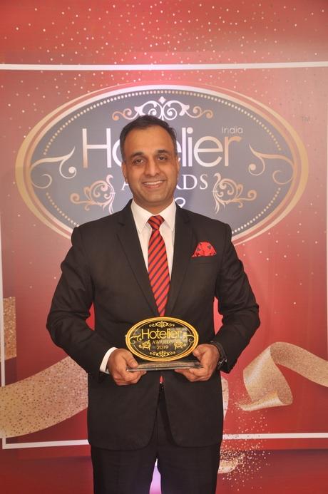 11th edition Hotelier India Awards, 11th Hotelier India Awards, Hotelier India, Hotelier India Awards 2019, Hotelier India Awards, F&B Person of 2019, F&B Person of the Year, Syed Asad Gauhar, Sheraton Hyderabad hotel