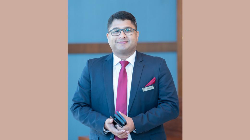 Nishanth Nair, Hyatt Regency Thrissur, Hyatt Regency, Grand Hyatt Kochi Bolgatty, Grand Hyatt, New appointment, Cluster director of sales