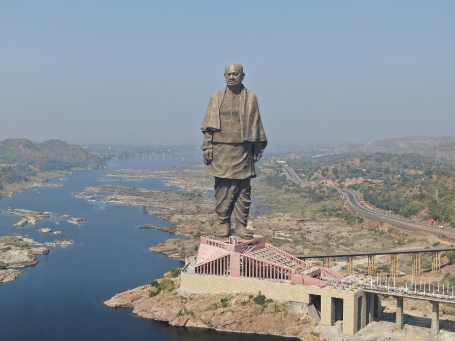 Statue of Unity, Gujarat, SCO, SCO's 8 Wonder list, Shanghai Cooperation Organization's '8 Wonders of SCO' list