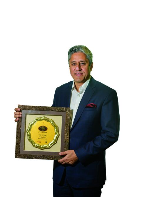 Sanjay Sethi, 11th edition Hotelier India Awards, Hotelier India, Hall Of Fame Award, Chalet Hotels, Give Back Project