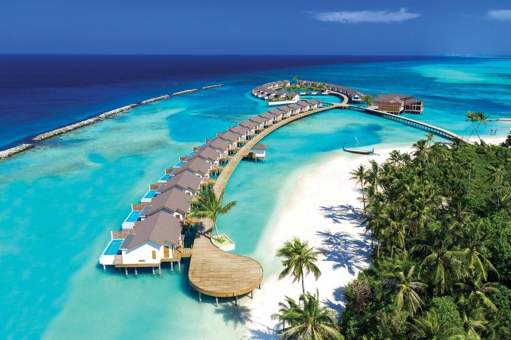 Atmosphere Kanifushi Maldives, Overwater villas, Maldivian resort