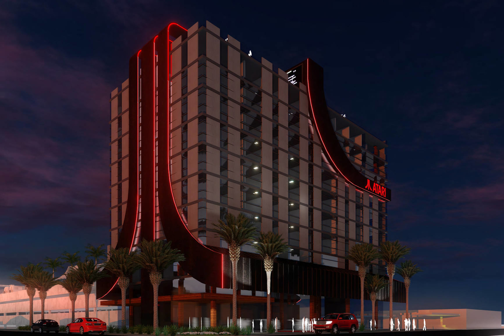 Hotel entertainment, Atari gaming company, Phoenix US, Video game-themed Atari Hotels, Video game-themed hotels, Video game-themed destination, GSD Group, United States, Hotel news, New openings, Hospitality news, True North Studio, Atari Hotels, Las Vegas, VR and AR, Unique lodging experience
