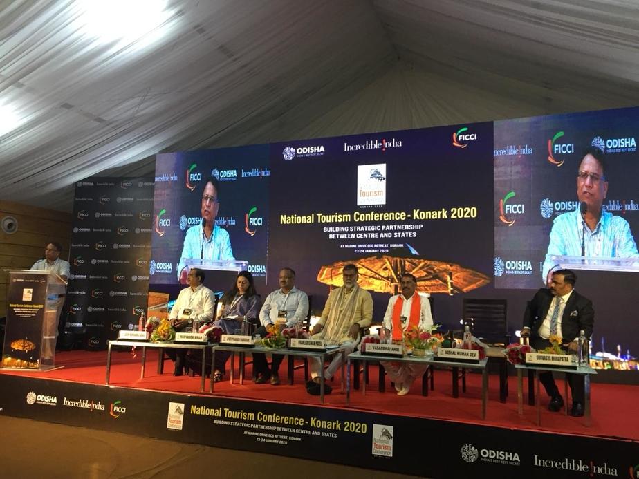 Odisha Tourism, Minstry of Tourism, National Tourism Conference, Konark