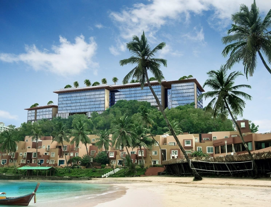 Ihcl, Taj Hotel & Convention Centre, Goa, Integrated hotel and conference facility, Cidade de Goa, Panjim