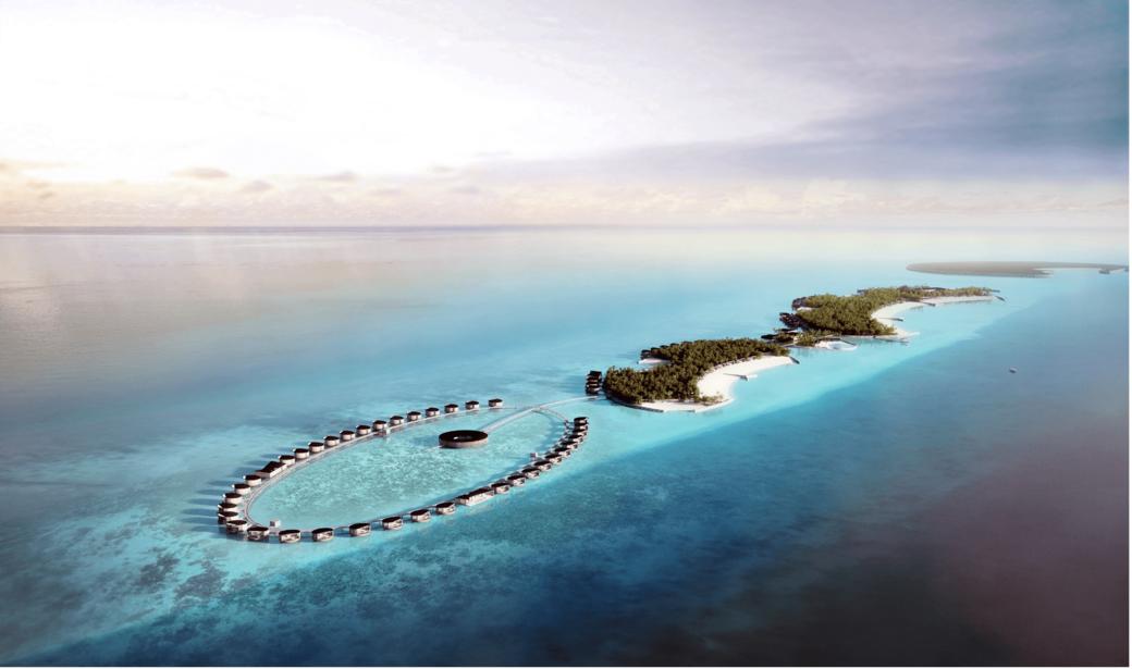 Marriott International, Ritz-Carlton in the Maldives, Oceanfront Resort, 100-villa resort amid white sandy beaches, The Ritz-Carlton Maldives, Fari Islands, Pontiac Land, Malé International Airport, Ritz-Carlton Spa, Fari Marina