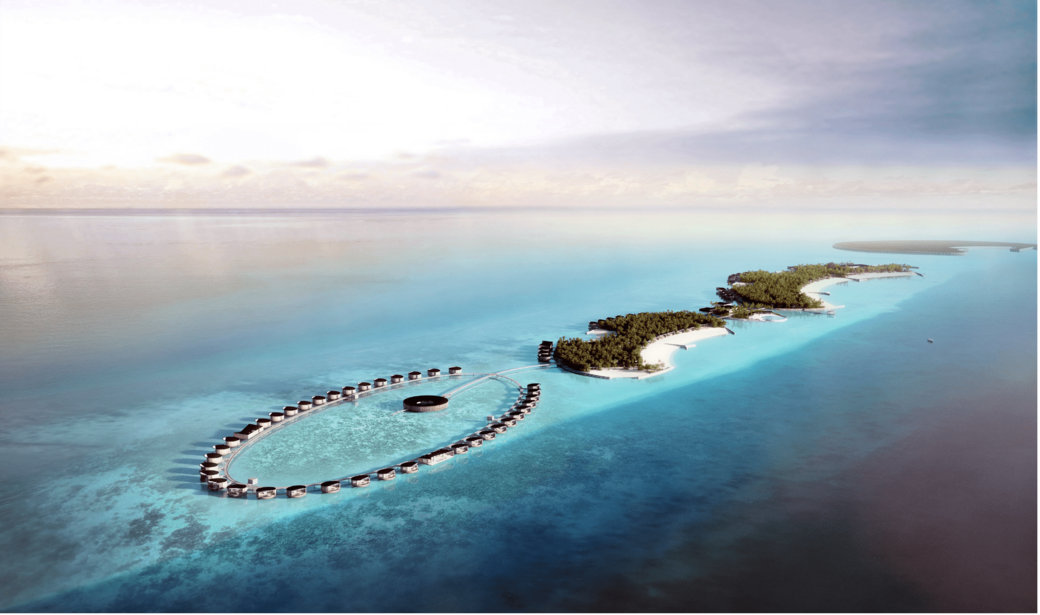 Marriott International, Ritz-Carlton in the Maldives, Oceanfront Resort, 100-villa resort amid white sandy beaches, The Ritz-Carlton Maldives, Fari Islands, Pontiac Land, Malé International Airport, Ritz-Carlton Spa, Fari Marina