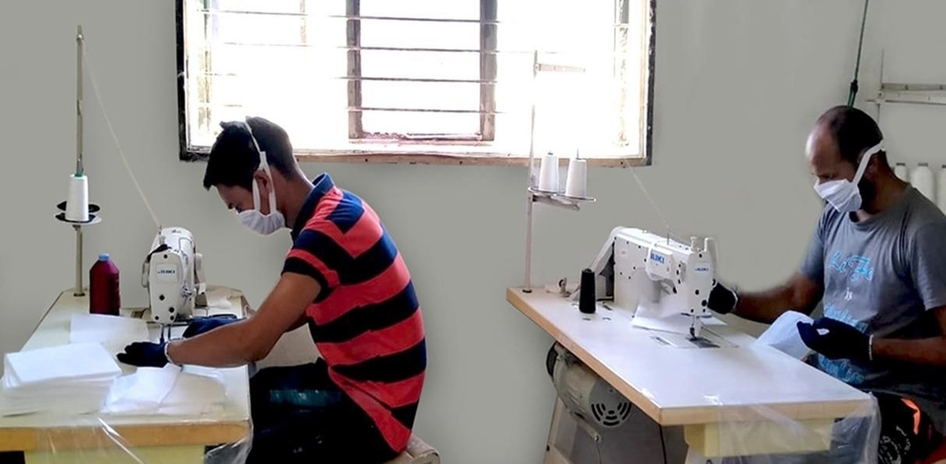 Springfit mattress, Mask production, Healthcare workers, Coronavirus protection, Face mask production