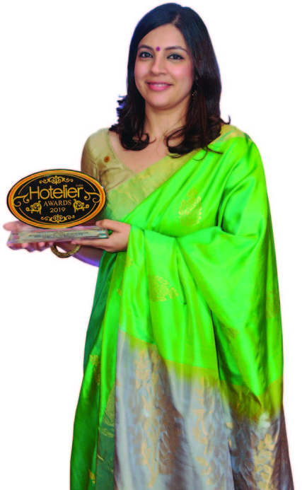 11th edition Hotelier India Awards, Hotelier India, 11th Hotelier India Awards, Hotelier India Awards 2019, Hotelier India Awards, Nisha Dhage, Taj Mahal Palace & Taj Mahal Tower Mumbai, PR Person of the Year, PR Person of 2019