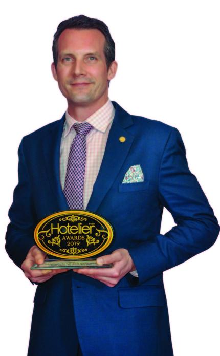11th edition Hotelier India Awards, 11th Hotelier India Awards, Hotelier India, Hotelier India Awards 2019, Hotelier India Awards, F&B Person of the Year, Simon Rastrick, The Oberoi, New Delhi., F&B Person of 2019