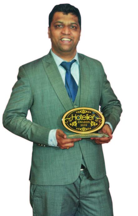 11th edition Hotelier India Awards, 11th Hotelier India Awards, Hotelier India, Hotelier India Awards, Hotelier India Awards 2019, Housekeeper of 2019, Housekeeper of the Year, Prasad Sonawane, Ibis Mumbai Airport, Hotelier Awards
