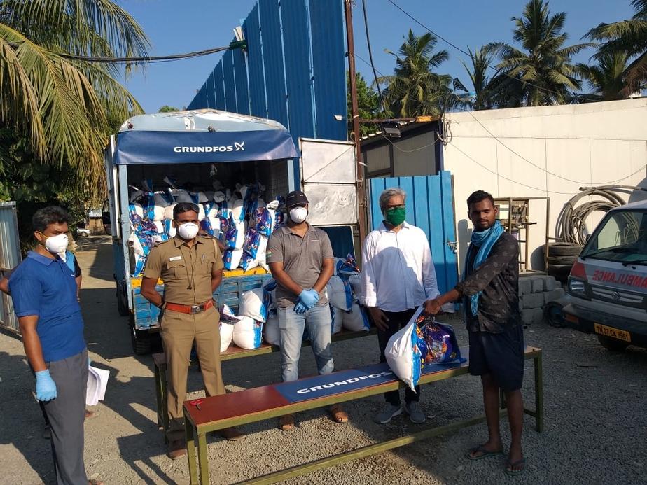 Grundfos India, Supports needy, Coronavirus pandemic