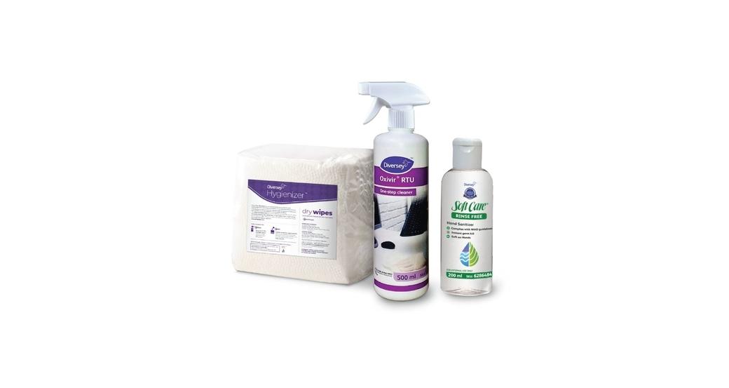 Diversey Hygienizer kit, Workspace hygiene, Employees, Diversey