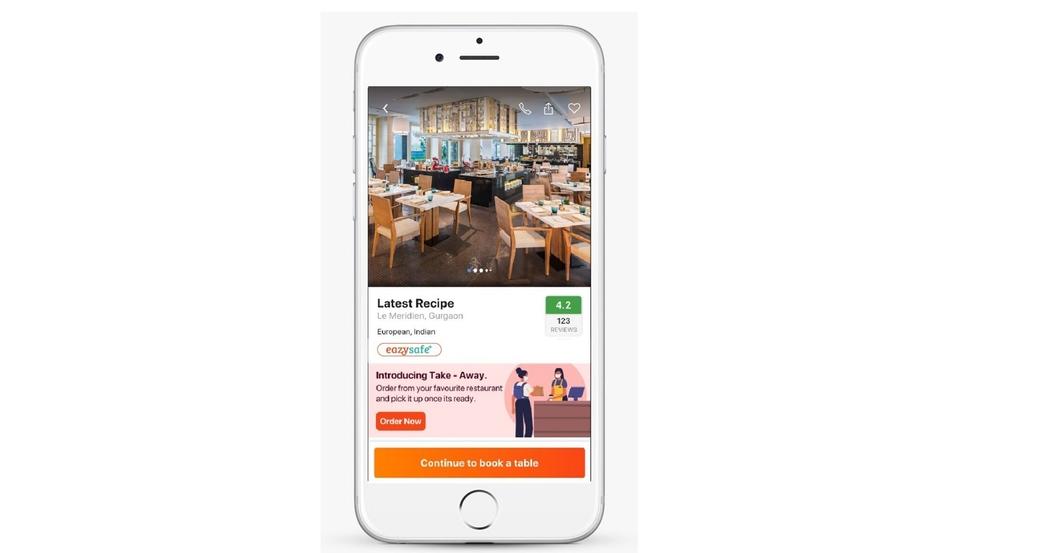 EazyDiner, Safe+ Dining, Lowest commission, Hotel news, Restaurant news, Coronavirus