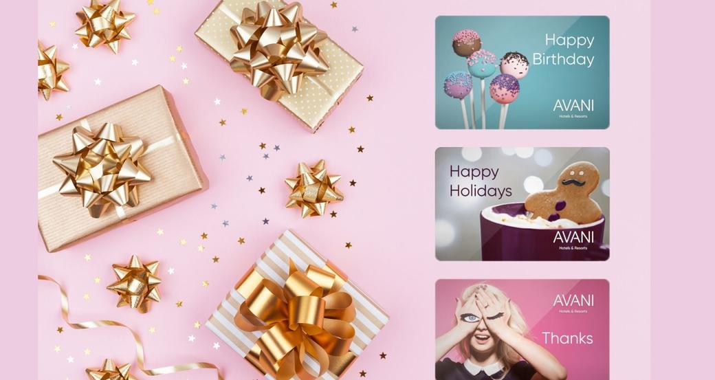 Avani Hotels & Resorts, Avani Gift Cards collection, Hotel news, Gift card collection, Travel news