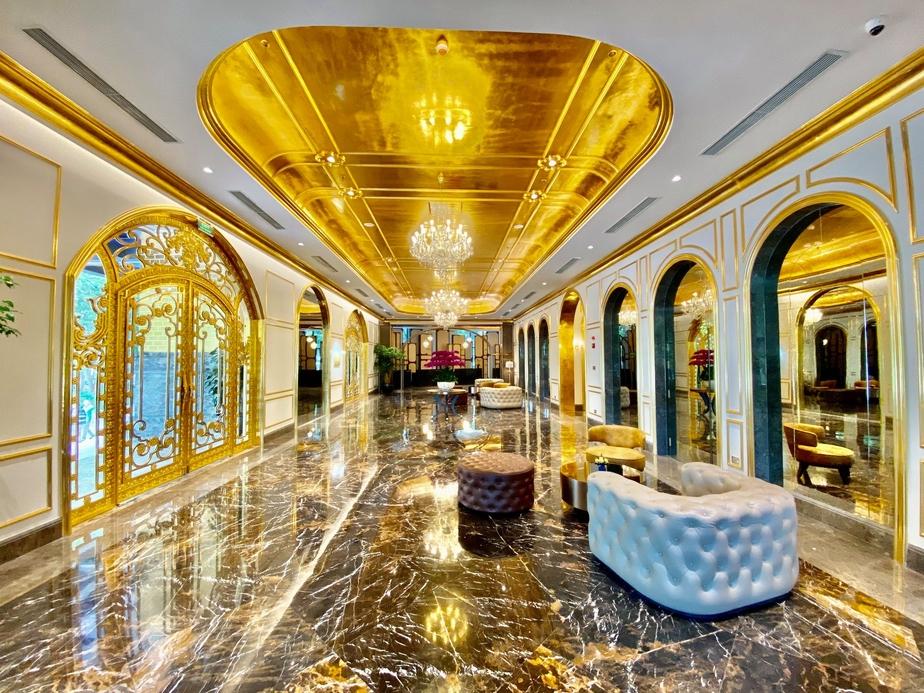 Dolce by Wyndham Hanoi Golden Lake, Gold-plated hotel, Hoa Binh Group, Vietnam, Wyndham Hotels & Resorts Inc