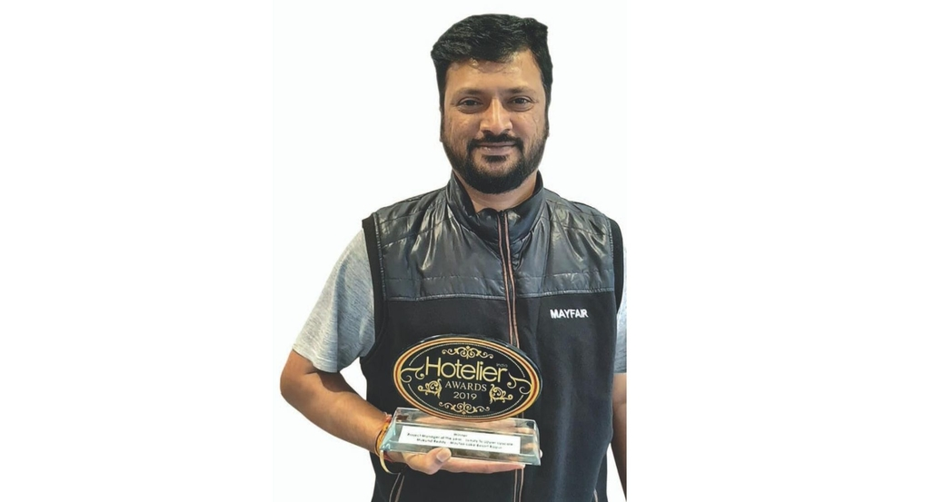 11th edition Hotelier India Awards, 11th Hotelier India Awards, Hotelier India, Hotelier India Awards, Hotelier India Awards 2019, Project Manager of the Year, Project Manager of 2019, Mukund Reddy, Mayfair Lake Resort Raipur