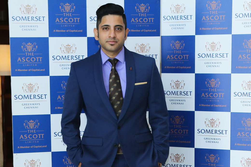 Anup Kumar, The Ascott Limited, Director of Sales – Chennai, New appointment, Hotel news