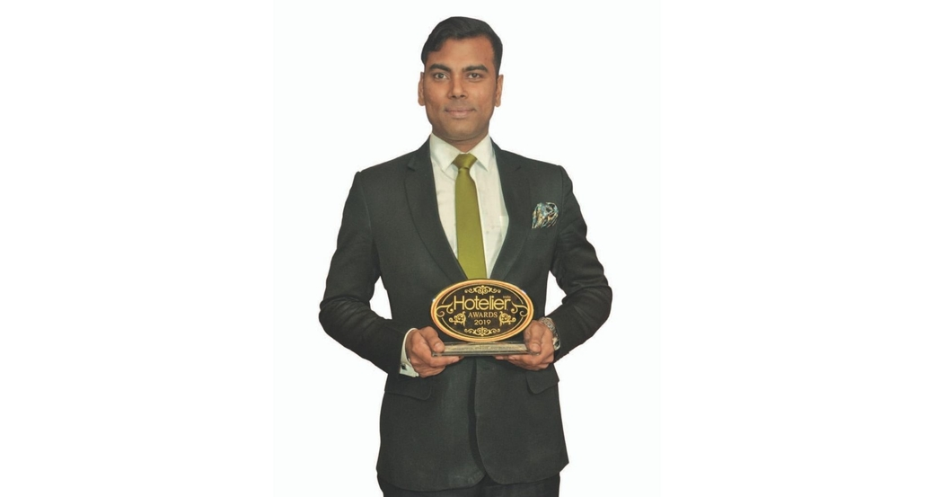 11th edition Hotelier India Awards, Hotelier India, 11th Hotelier India Awards, Hotelier India Awards 2019, Hotelier India Awards, Banqueting Person of the Year, Banqueting Person of 2019, Sumitabh Panchal, Courtyard by Marriott Bhopal