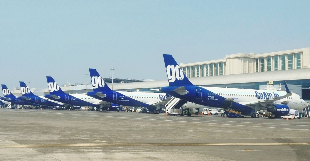 GoAir, Airport Authority of India (AAI), Cash and carry basis, Tourism, Travel
