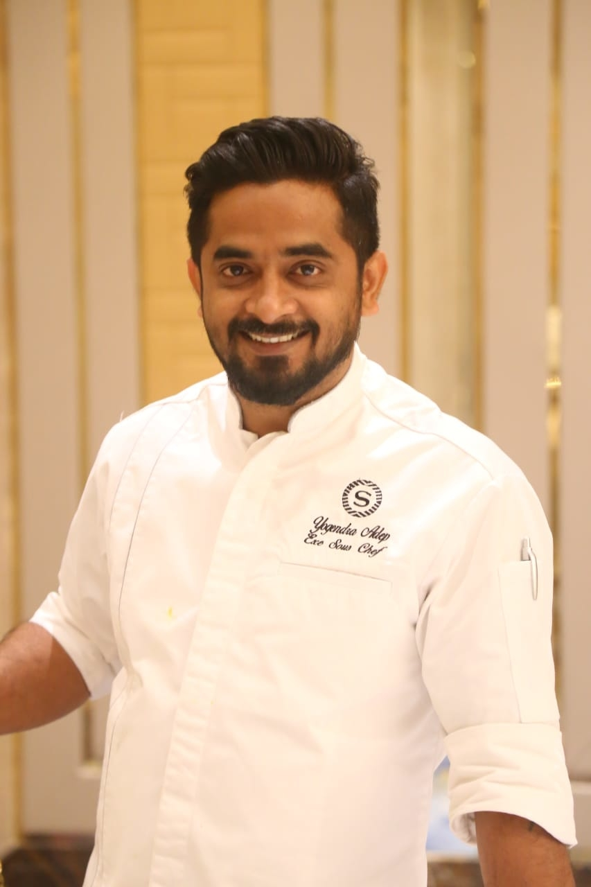 Yogendra Adep, Executive Sous Chef, Sheraton Grand Pune Bund Garden Hotel, Michillin Star Chef, Alec Howard, Executive Chef Nader Shaikh